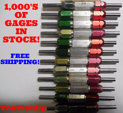 Many to Choose from Plug Pin Gage GO-NO GO Medium; Vermont; .5623; .437; .310