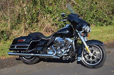 2014 Harley-Davidson Touring  2014 Black Harley Davidson Electra Street Glide Classic Police FLHTP Many Extras