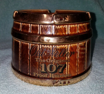 old weller The original 107 proof bourbon ash tray