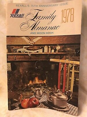Rexall Family Almanac And Moon Book 1978 - 75th Anniversary Issue