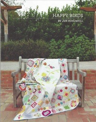 Jen Kingwell Pattern: Happy Birds