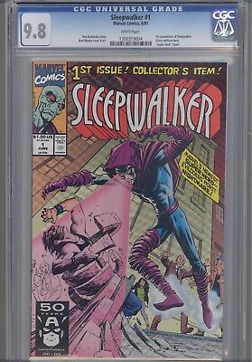 Sleepwalker #1  CGC 9.8 1991 Price Drop!