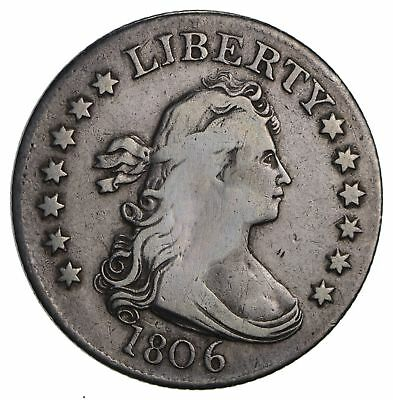 1806 Draped Bust Quarter- Circulated *3501
