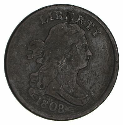 1808/7 Draped Bust Half Cent- Circulated *2967