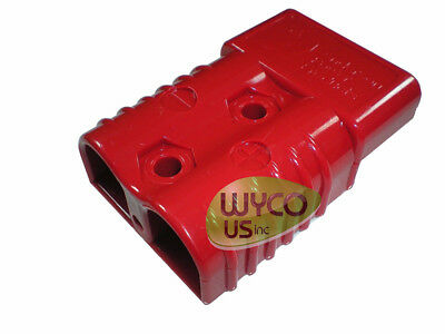 "ANDERSON CONNECTOR HOUSING (NO PINS), SB175A 600V, 175AMP (3""x2""x1""), RED"