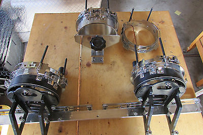 Commercial Embroidery Machine Hat Hoop Frame Lot of 3!