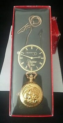 Dept 56 Chritmas Time Pocket Watch Ornament NiB