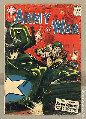 Our Army at War #64 1957 GD+ 2.5