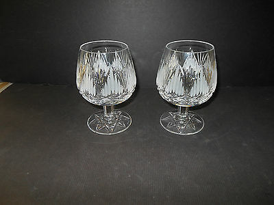 Vintage Tyrone Crystal Brandy Glass Lot Of (2) - Exc. Cond.