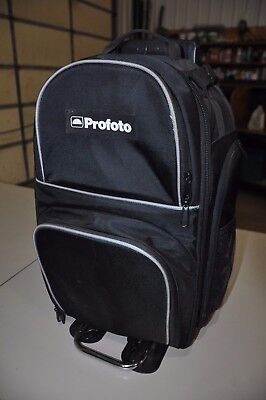"Profoto Backpack M for D1 Air or B1 AirTTL,12x7x19"", with  Roller Caddy"