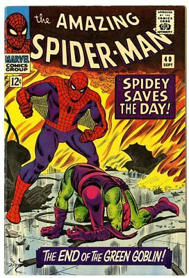Amazing Spider-Man #40 NM- 9.2  Green Goblin cover  Marvel  1966  No Reserve
