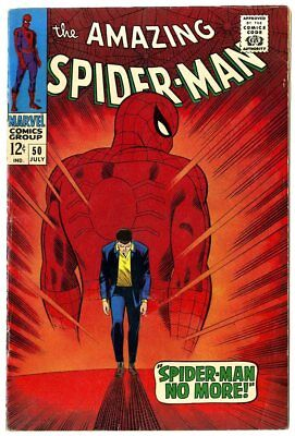 Amazing Spider-Man #50 FN/VF 7.0 white pages  1st app. The Kingpin  Marvel  1967