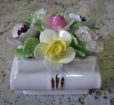 Royal Doulton  Book Vase Posy Of Flowers Made In England