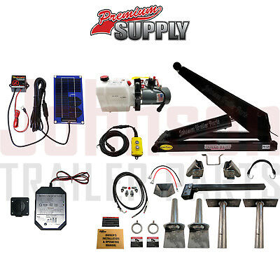 10 Ton Hydraulic Scissor Hoist Kits | PH520 | Perfect for Dump Trailers & Trucks
