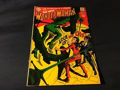 DC comics Wonder Woman # 182 Vg cond. Cover loose at one staple