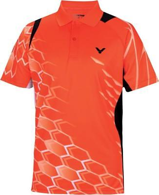 VICTOR Polo National orange 6265 Unisex Function Sport Shirt Herren Größe XXL