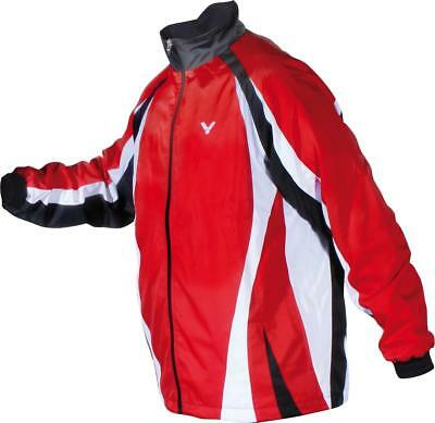 VICTOR TA Trainingsjacke Team rot 3833 Trainingsanzug Sport Badminton Größe L