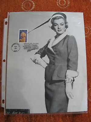 Marilyn Monroe Stamp With Picture First Edition