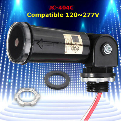 LED 120~277V Dusk To Dawn Outdoor Swivel Photoelectric Control Detect Sensor