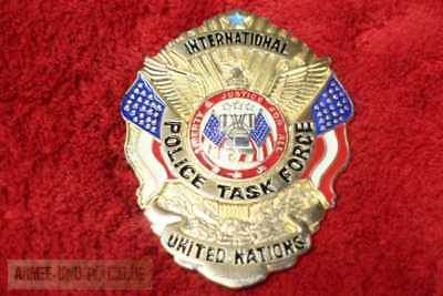 Historisches International Police Task Force Badge United Nations