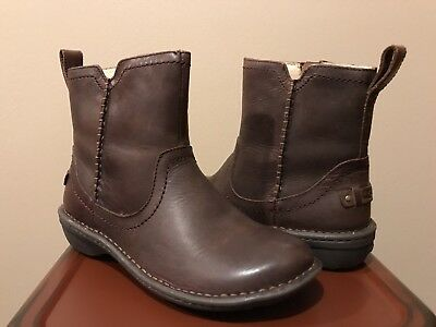 68588bc3699 UGG NEEVAH WOMEN'S Leather Boots Chocolate 5M 1004177