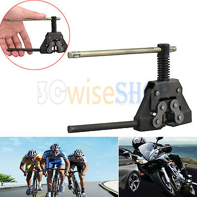 Motorcycle Bicycle Scooter Heavy Duty Chain Breaker Splitter Cutter Tool 420-530