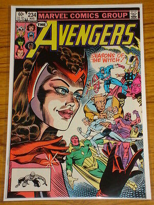 Avengers #234 Vol1 Marvel Origins Scarce X-Men App August 1983