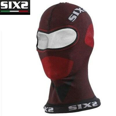 Sottocasco Sotto casco Carbon Underwear X MIX Moto SIXS DARK RED 100% Italy DBX