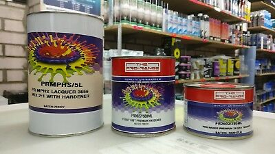 Lacquer 2k hardener + thinners