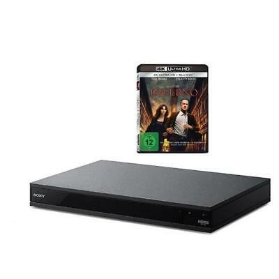 3498128 Sony Uhd Blu-Ray-Player 4K Upscaling, Bluetooth, High-Resolution Audio,