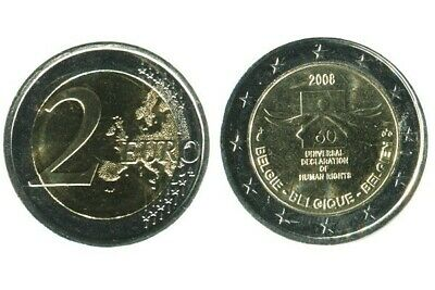 2 Euros Commemoratives Belgique 2008