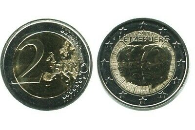 2 Euros Commemoratives Luxembourg 2011