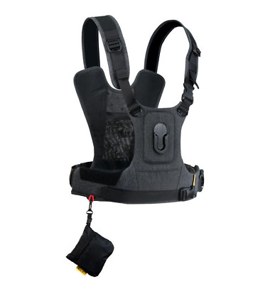 Cotton Carrier CCS G3 Camera Harness System For 1 camera - Charcoal Grey