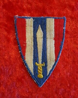 WWII WW2 European Civil Affairs Theater Made Patch