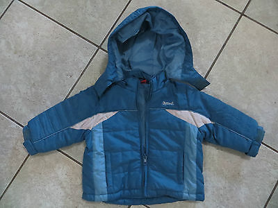Sprout Baby Boys Winter Hooded Jacket - Size 0 (6-12 Months)
