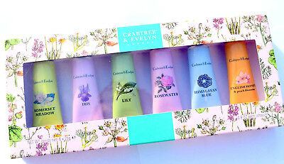 Crabtree & Evelyn Ultra Moisturising Hand Therapy Gift Set 6 x 25g AUTHENTIC