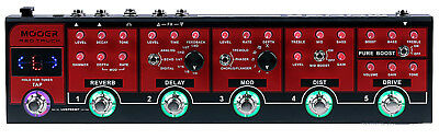 Mooer Red Truck Combined Distortion Overdrive Delay Guitar Effects Pedal w case