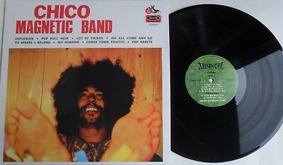 "LP CHICO MAGNETIC BAND ""Same""  (Re) Absinthe Records ARLP 516 - MINT/MINT"