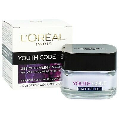 L´oreal Youth Code Gesichtspflege Nacht 50 ml