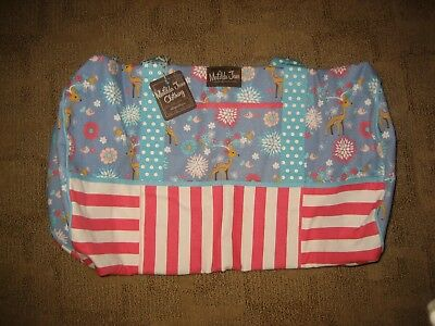 ~MATILDA JANE~ At The Lodge~ Girl's Overnight Weekender Duffle Bag~NWT~