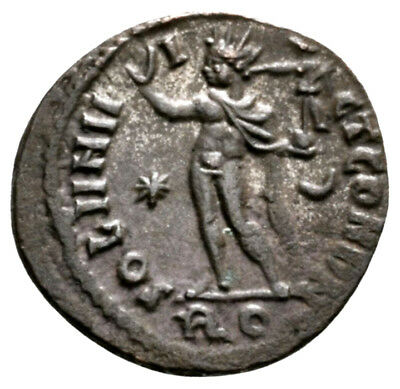 CONSTANTINE THE GREAT (316 AD) Rare Follis. Rome Victory #MB 9636