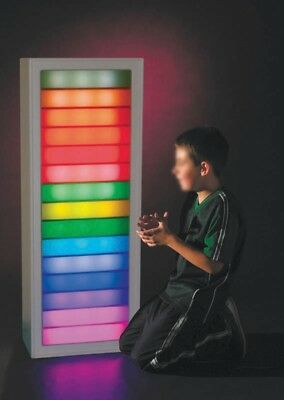 Sensory Interactive Ladder/Stairway of Light and Sound Wall Panel - SEN, Autism,