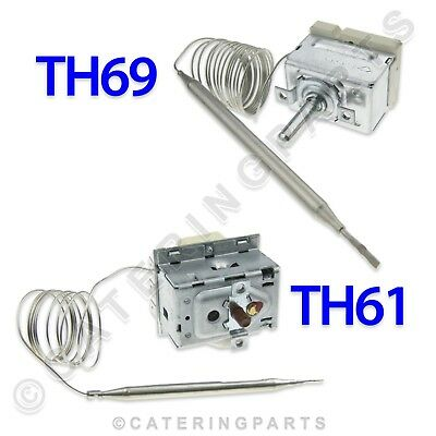 Lincat Th69 Th61 Fryer Temperature Control & High Limit Safety Thermostat Set