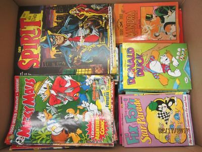 165 Bücher Hefte Comic Comics Micky Maus Fix und Foxi Donald Duck u.a.