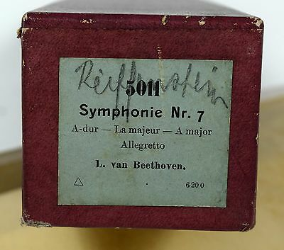 Symphonie Nr. 7 - Beethoven - Notenrolle Selbstspielendes Klavier Pianola rolls