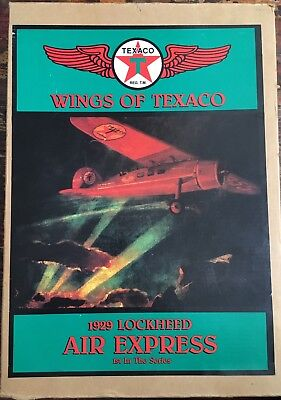 NEW Wings Of Texaco 1929 Lockheed Air Express Airplane Bank, 1st in the series