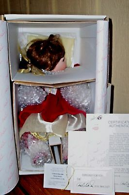 DISNEY CHRISTMAS BABY BELLE by MARIE OSMOND TODDLER SERIES  MINT NRFB