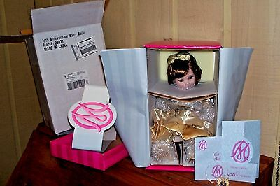 DISNEY BABY BELLE 10TH ANNIVERSARY by MARIE OSMOND TODDLER W/PIN MINT NRFB