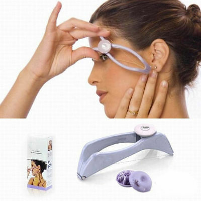 Slique Facial Eyebrow Threading Epilator Face Body Threader Hair Remover Beauty!