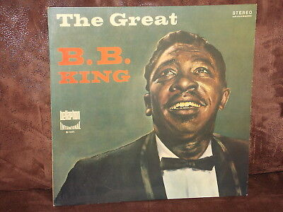 Vinyl-LP: B.B. KING And His Orchestra - The Great B.B. King (1960)